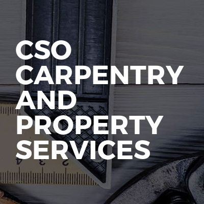 CSO Carpentry and Property Services