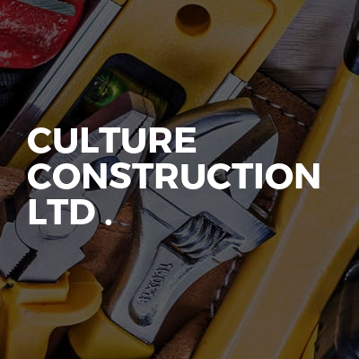 Culture Construction Ltd .