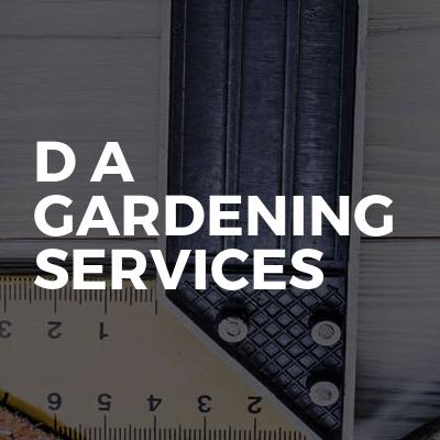 D A gardening services