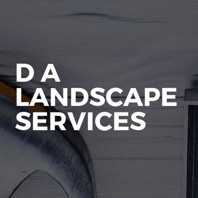 D A Landscape Services