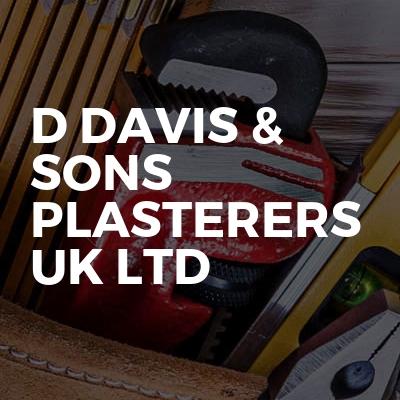 D Davis & Sons Plasterers UK Ltd