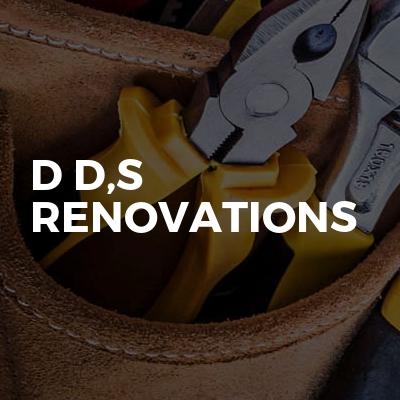 D D,s Renovations