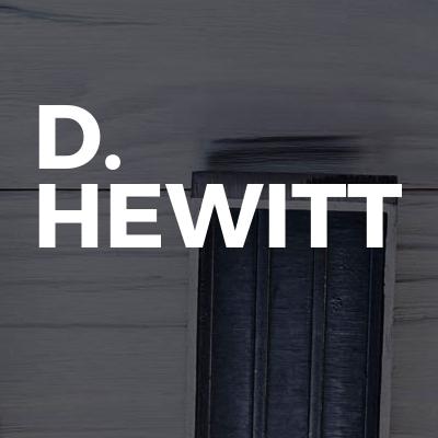 D. Hewitt