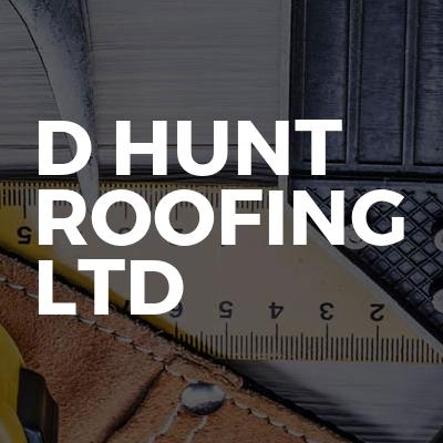D Hunt Roofing Ltd