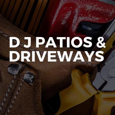 D J patios & Driveways