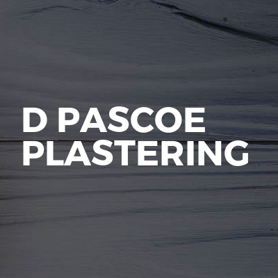 D Pascoe Plastering