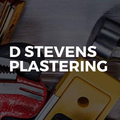D Stevens Plastering