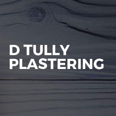 D Tully plastering
