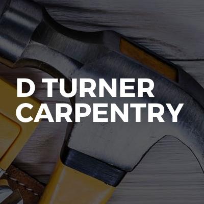 D Turner Carpentry