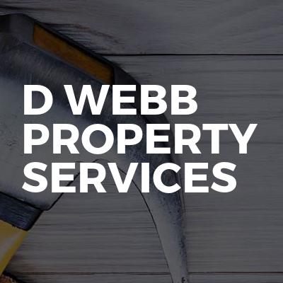D Webb Property Services