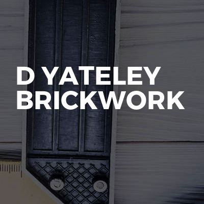 D yateley brickwork