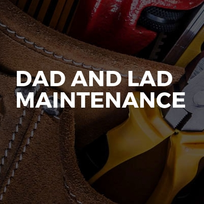 Dad And Lad Maintenance