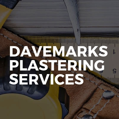 Davemarks plastering services