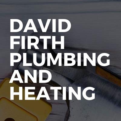 David Firth plumbing and heating