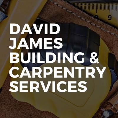 David James building & carpentry services