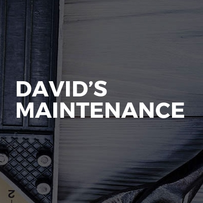 David's maintenance