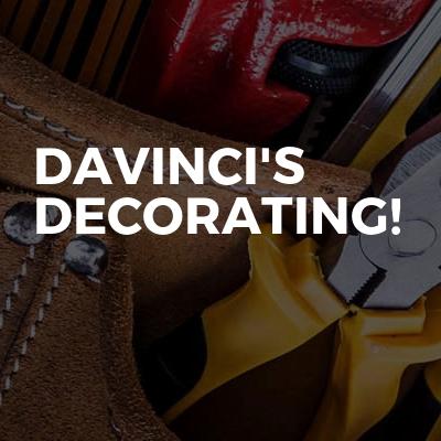Davinci's Decorating!