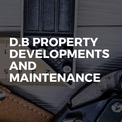 D.b property developments and maintenance