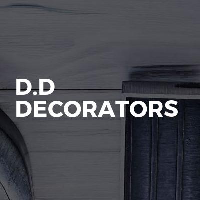 D.D DECORATORS