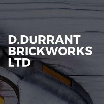 D.DURRANT Brickworks Ltd