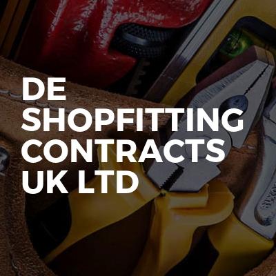 De shopfitting contracts uk ltd