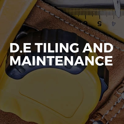 D.E Tiling And Maintenance