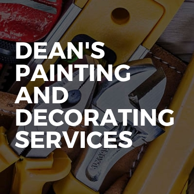 Dean's painting and decorating services