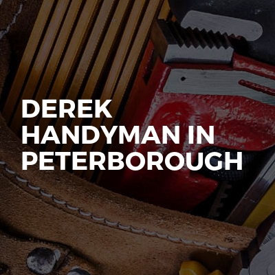 Derek Handyman in Peterborough