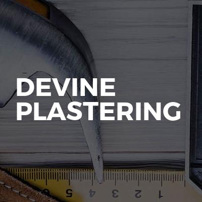 Devine plastering
