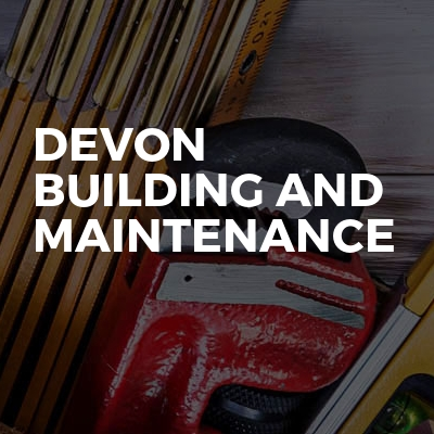 Devon building and maintenance