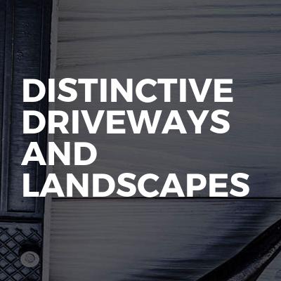 Distinctive driveways and landscapes