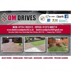 DM DRIVES AND PATIOS LIMITED