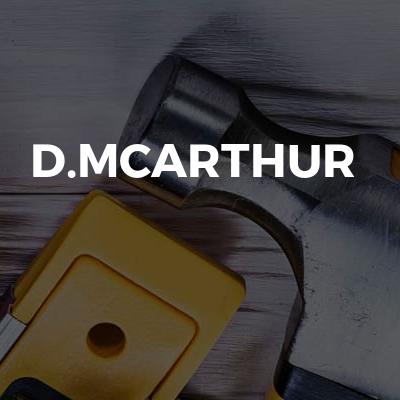 D.Mcarthur
