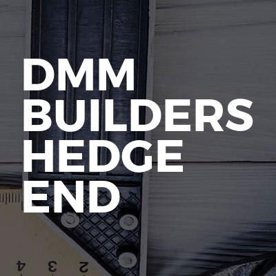 Dmm Builders Hedge End