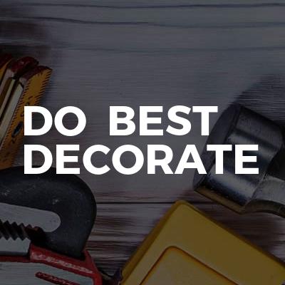 Do  Best Decorate