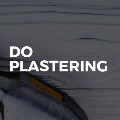 Do plastering