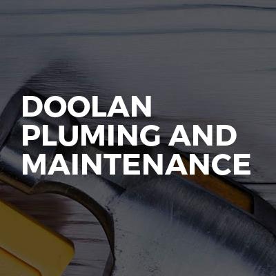 Doolan pluming and maintenance