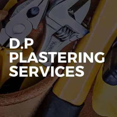 D.P plastering services