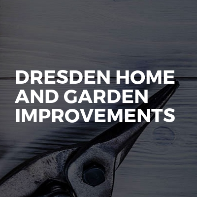 Dresden home and garden improvements