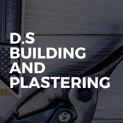 D.S Building and plastering