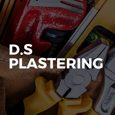 D.s Plastering