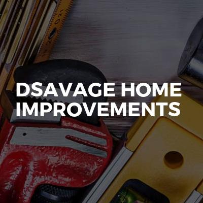 DSavage home improvements