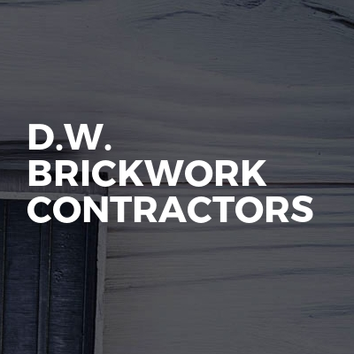 D.W. Brickwork Contractors