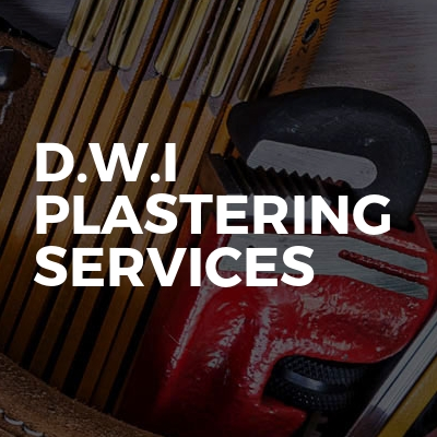 D.w.i plastering services