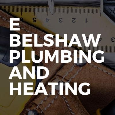 E Belshaw Plumbing And Heating