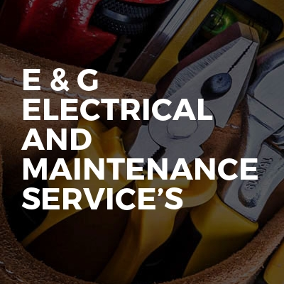 E & G Electrical and Maintenance Service's