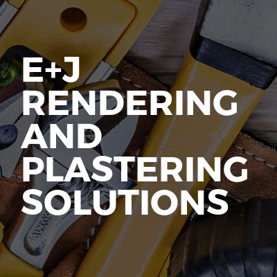 E+J Rendering and plastering Solutions