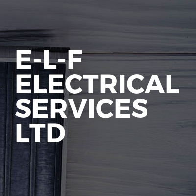 E-L-F ELECTRICAL SERVICES LTD