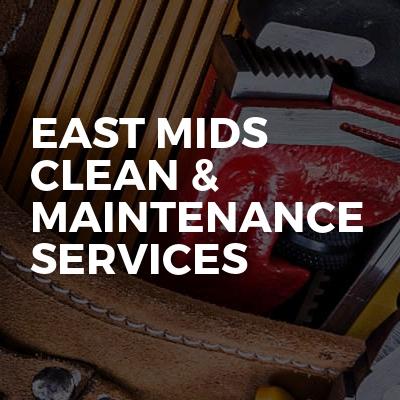 East Mids clean & maintenance services