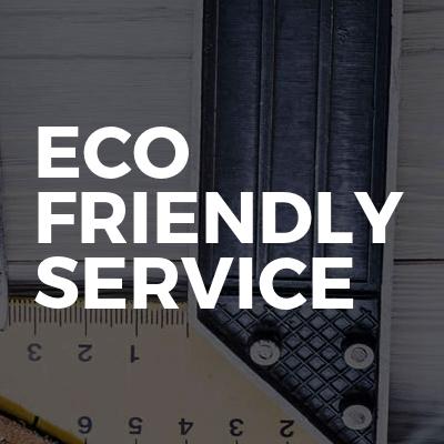 Eco friendly service
